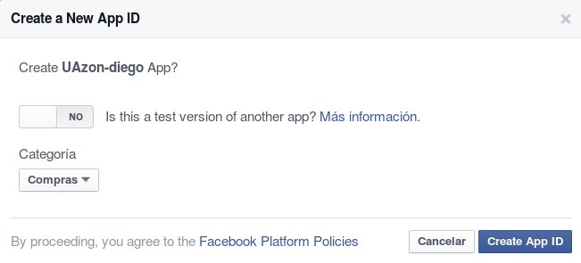 Registro FB-dev. Paso 5