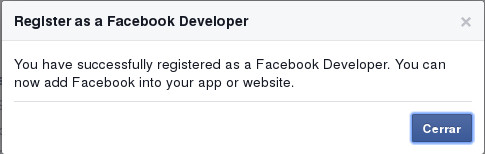 Registro FB-dev. Paso 3